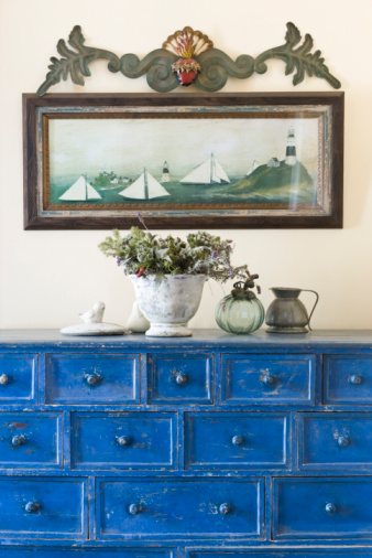 How to Paint Over Stained & Varnished Furniture