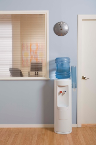How to Fix a Water Cooler Spout