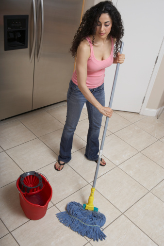 How To Clean Travertine Tile Floors Hunker