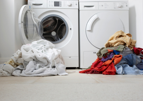 Separate Your Laundry Into Smaller Loads By Fabric Type