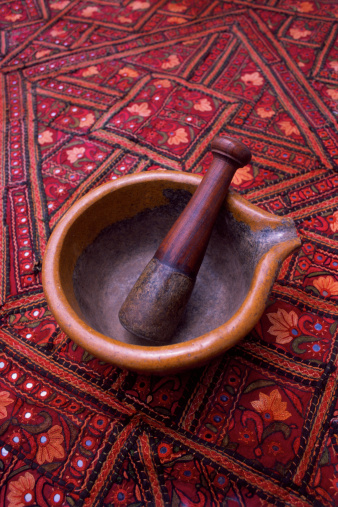 How to Cure a New Mortar and Pestle