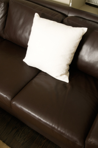How to Get the Smell Out of a Leather Couch