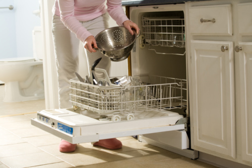 How To Clean Clogged Jets In The Dishwasher Spray Arms To Solve Poor ...