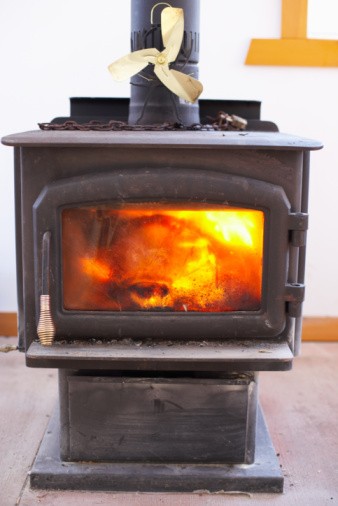 How to Install a Wood Stove Pipe Through a Roof