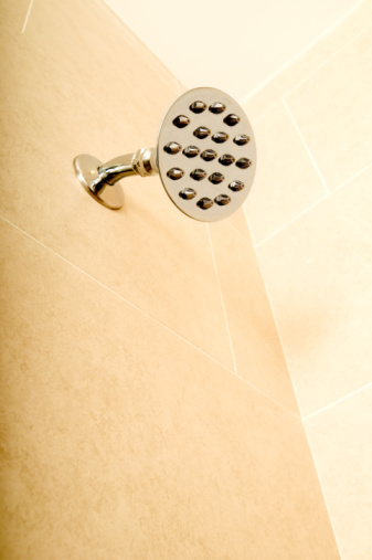 how to remove bleach stains from porcelain tiles