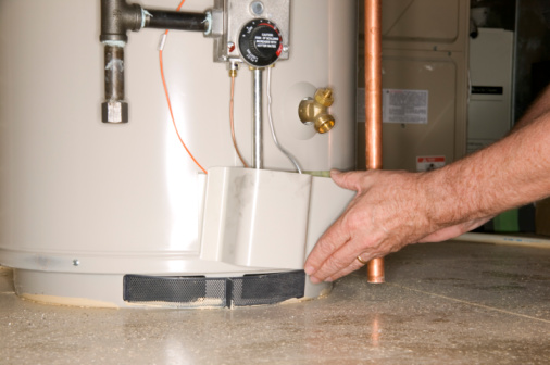 How to Light a Gas Water Heater With an Electric Pilot