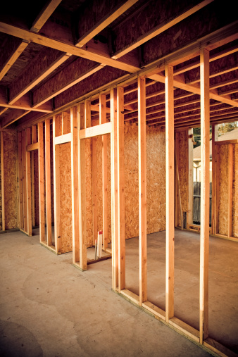How to Estimate the Number of Studs for Wall Framing