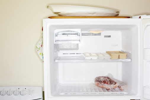 How to Clean Heavy Mold Out of a Freezer