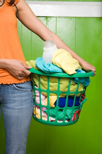 How to Remove White Streaks Caused by Laundry Detergent