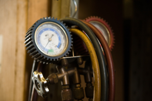 How to Use C-manifold Gauges on Home Air Conditioning
