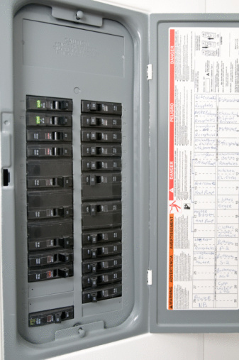 How to run a subpanel to a detached garage hunker how to hook up a breaker box to a pre existing breaker box greentooth Image collections