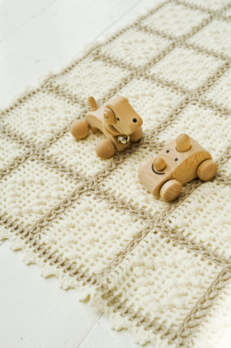 How to Safely Clean Wood Toys & Teething Toys
