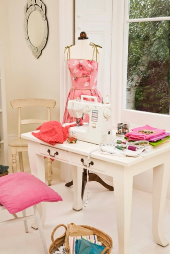 Organization Tips for a Small Sewing Room