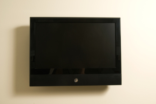 How to Mount a TV on a Cement Block Wall