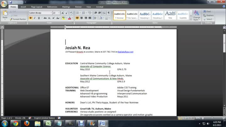 how to send a resume as word attachment ehow