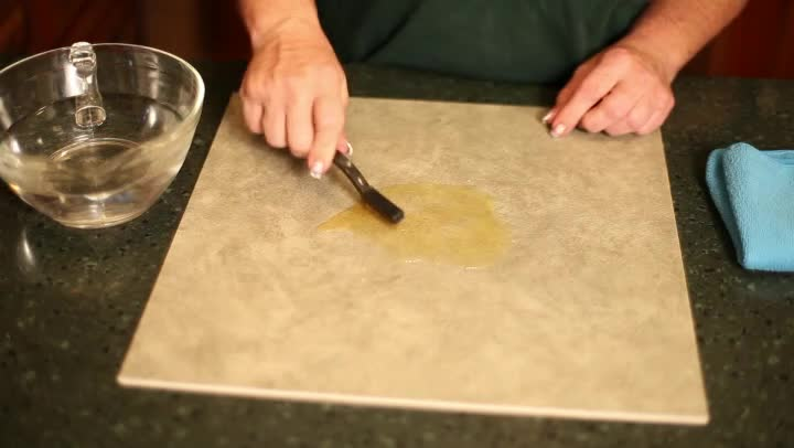 how to clean unglazed terracotta tiles