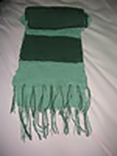 Easy Scarf Knitting Patterns Two Colors : How to Knit a Simple Scarf eHow