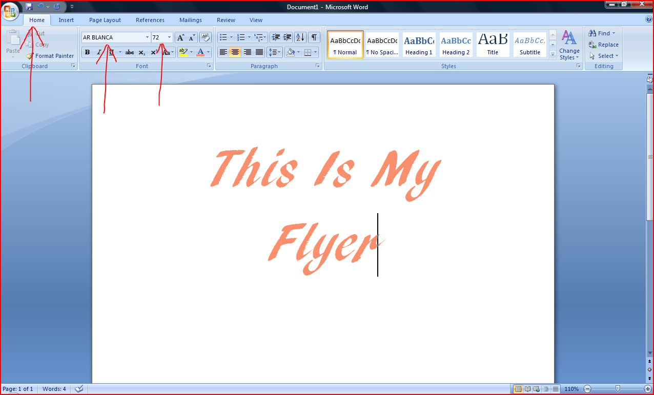 how to make a flyer on microsoft word it still works photo by janna rock