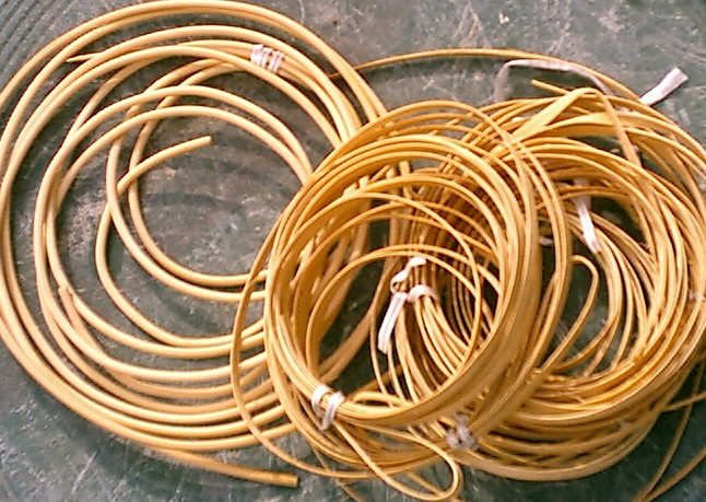 How To Weave A Cattail Basket : How to weave a round paper basket ehow