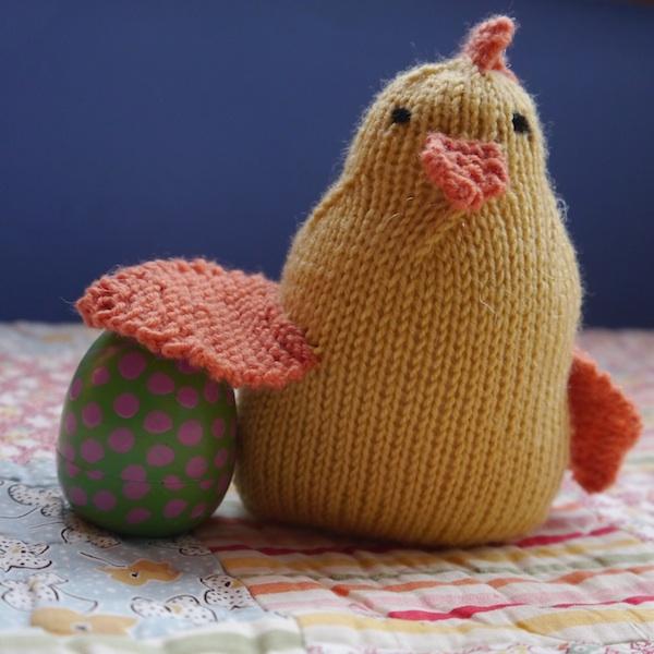 Knitted Chicken Softie