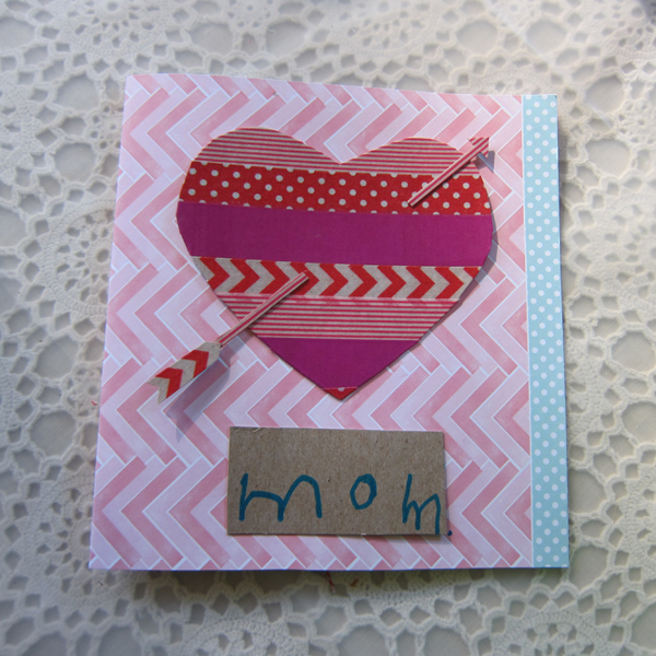 Washi Tape Valentine's Day Cards