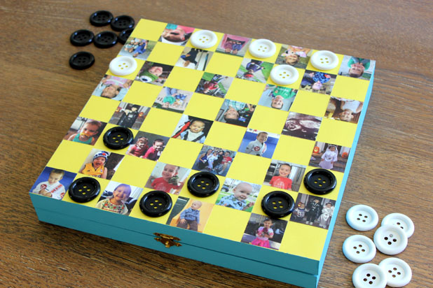 Get Your Game On with a Personalized Photo Checkboard