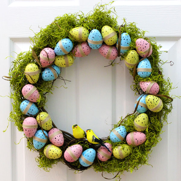 Spring Decor: DIY Easter Wreath