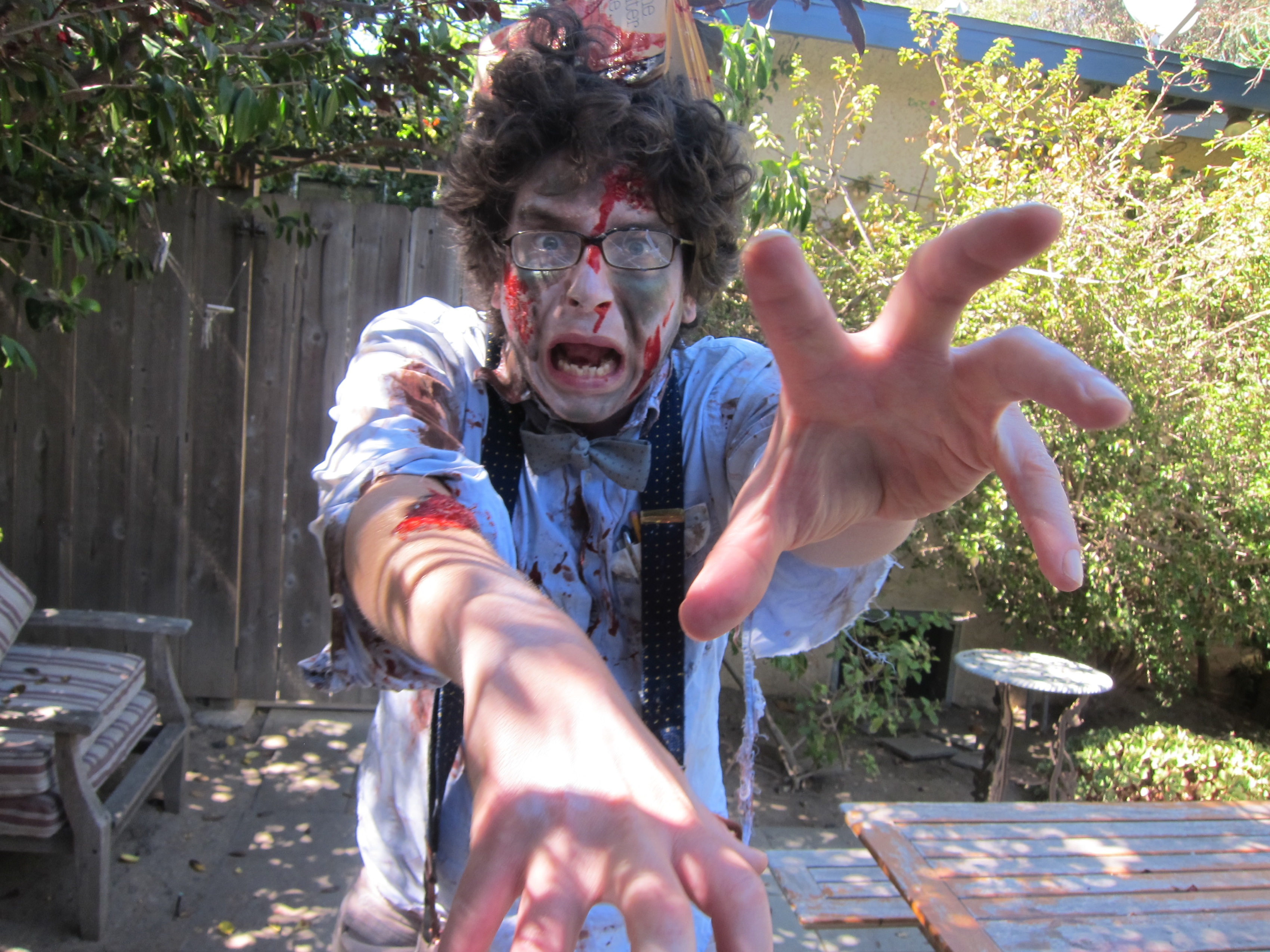 How to Make a Zombie Nerd Costume