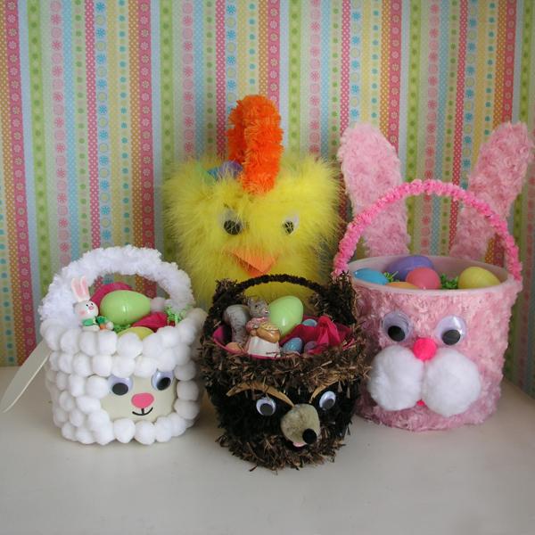 Bucket Easter Baskets