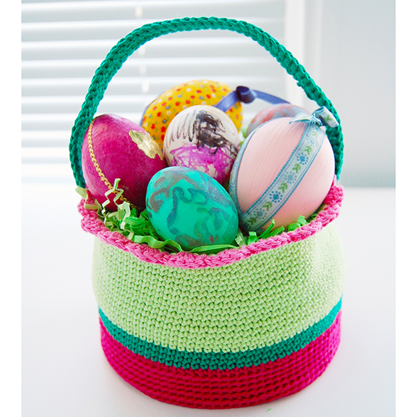 How to Crochet an Easter Basket
