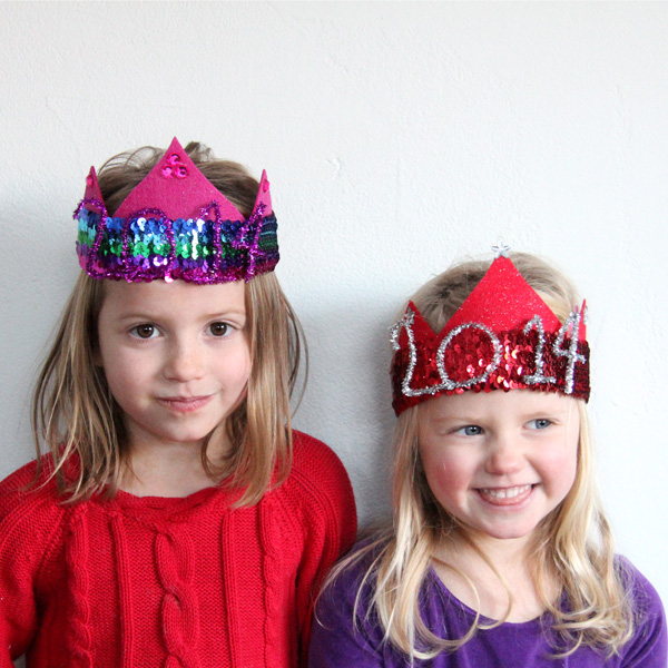 The Cutest New Year's Eve Party Hats for Kids