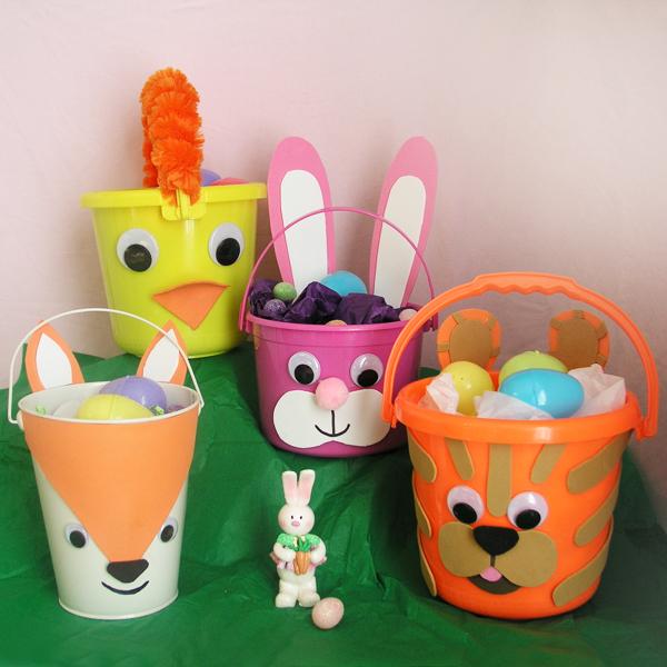 Easter Baskets Kids Can Make