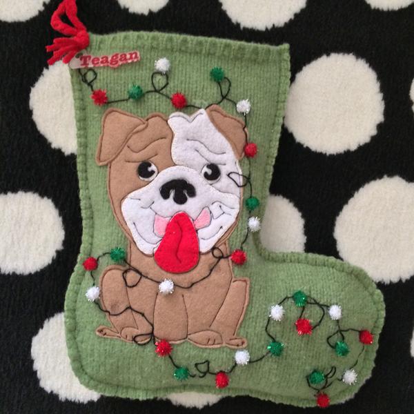 How to Make a Homemade Felt Christmas Stocking