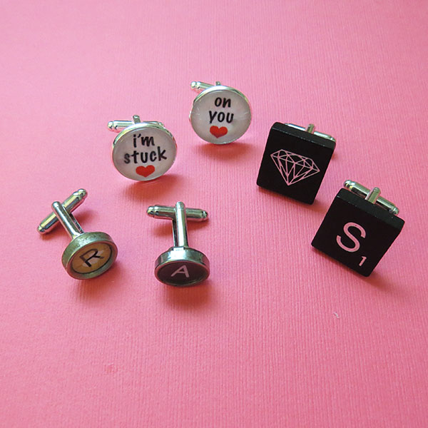 Gift for Guys: Customized Cuff Links