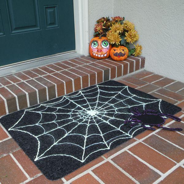Halloween Spiderweb Doormat