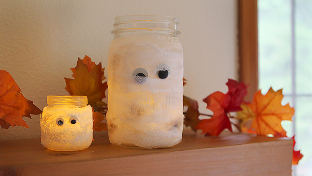 Make It Mummy Luminaries Ehow Crafts Ehow