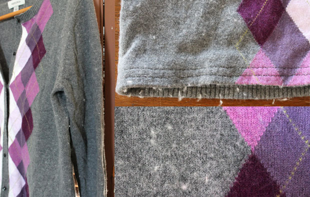 The Secret to Removing that Dreaded Pilling From Your Clothes