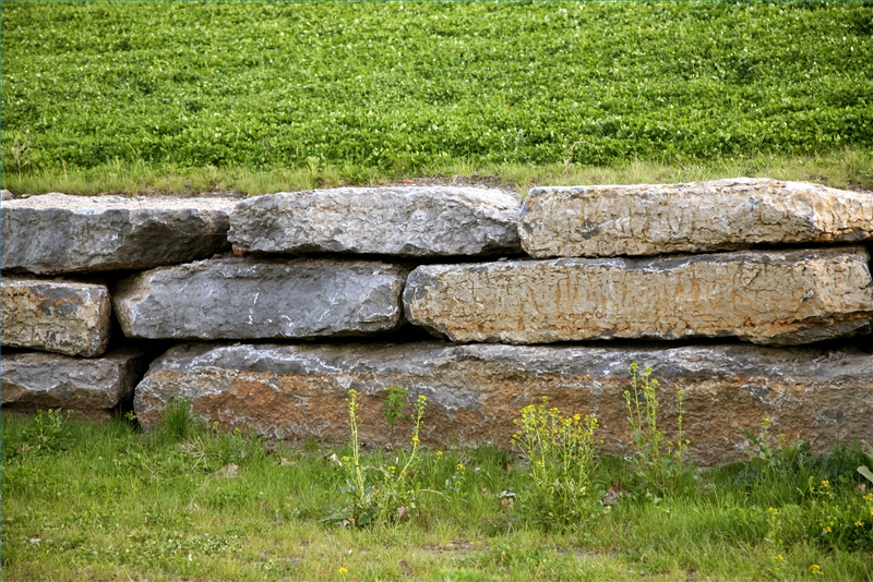 How to build a dry stone wall ehow