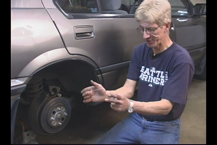 how to change brake pads on pontiac grand am