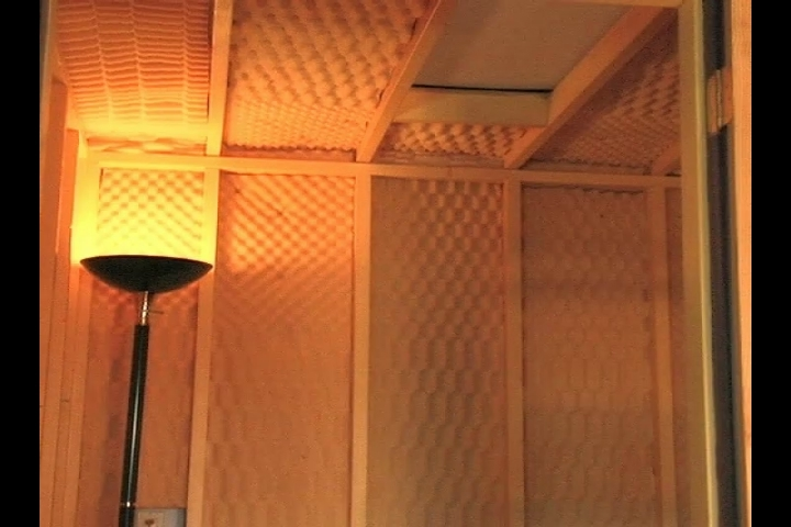 Awe Inspiring List Of Materials To Build A Vocal Booth Ehow Largest Home Design Picture Inspirations Pitcheantrous