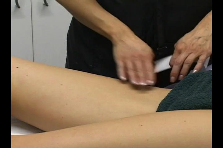 How to wax bikini area