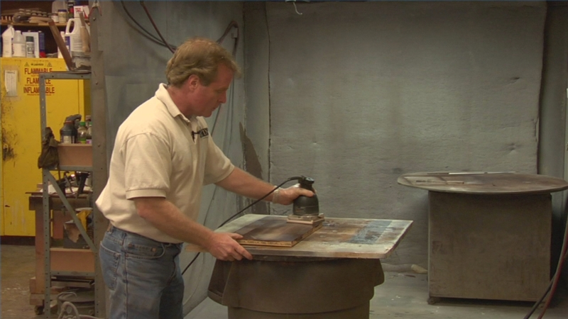 Video: Finishing Wood Furniture With Lacquer | EHow