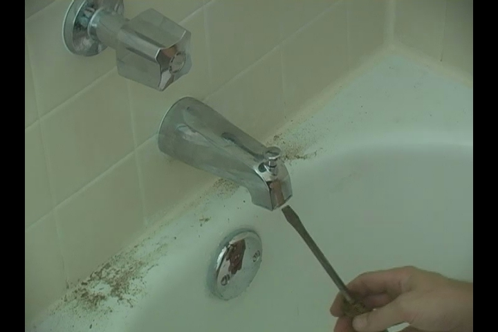 Video Leaky Bathtub Faucet Repair Evaluation EHow