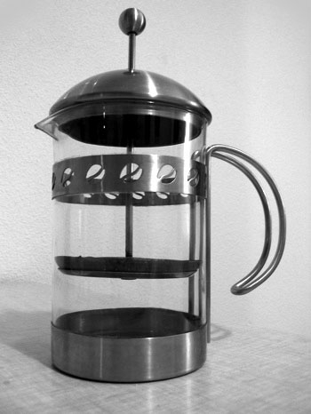 how to heat water for a french press coffee pot ehow. Black Bedroom Furniture Sets. Home Design Ideas