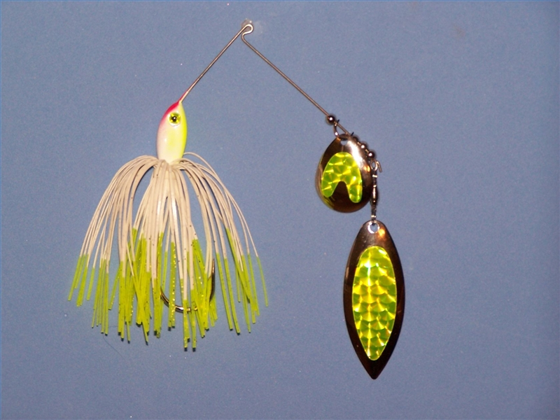 How to tie spinner bait on fishing line gone outdoors for How to make a fishing spinner