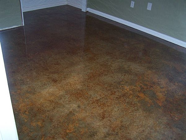 How To Stain An Interior Concrete Floor Ehow