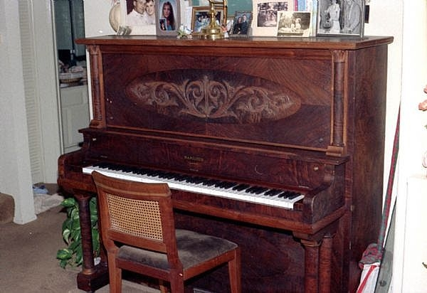 What are the dimensions of an upright piano ehow for Piano upright dimensions
