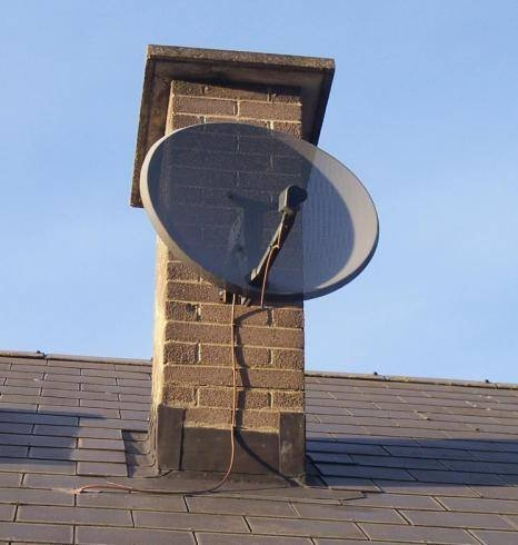How to Aim a Satellite Dish   It Still Works