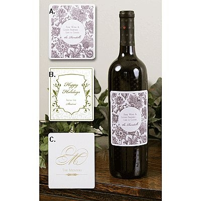how to make custom wine bottle labels for your wedding ehow. Black Bedroom Furniture Sets. Home Design Ideas