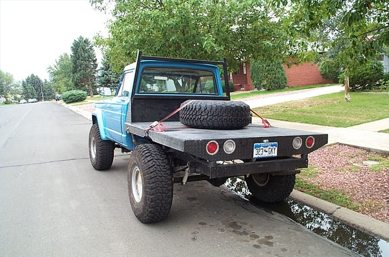 How To Build A Flat Bed For Pickup Truck It Still Runs